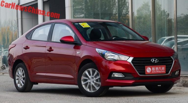 Hyundai презентовал новый бюджетный седан 1