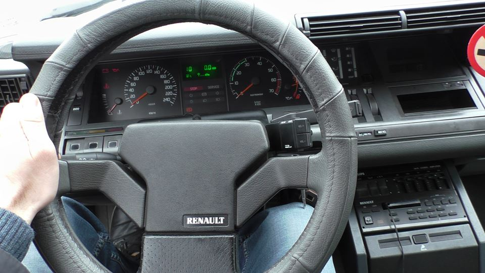 «Автомобиль для президента»: тест-драйв Renault 25 5