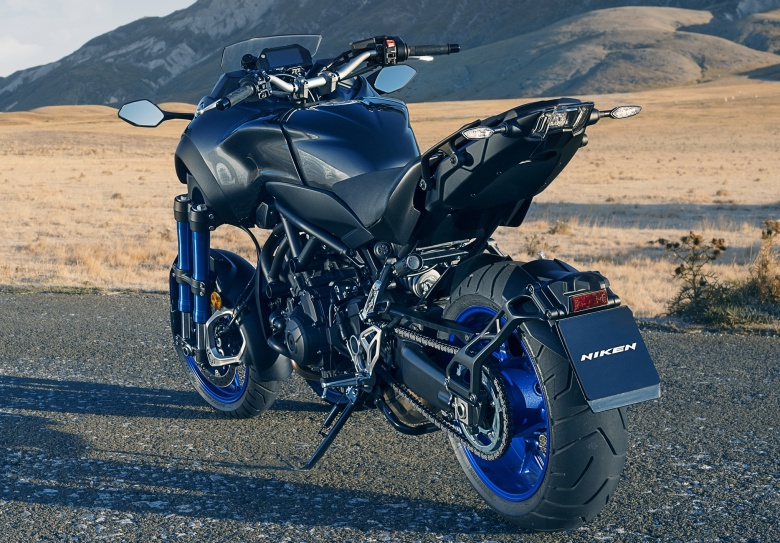 Компания Yamaha представила сверхустойчивый мотоцикл 2