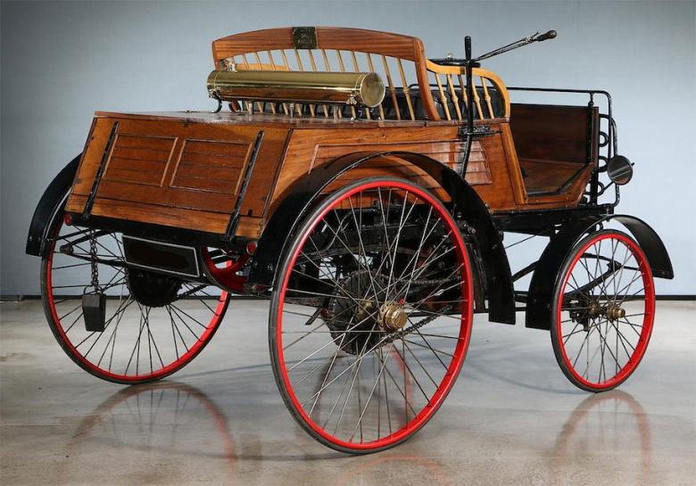 Самый старый автомобиль Великобритании продадут за огромные деньги 2