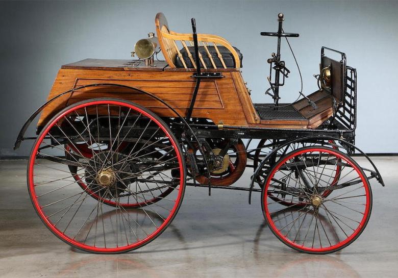 Самый старый автомобиль Великобритании продадут за огромные деньги 1