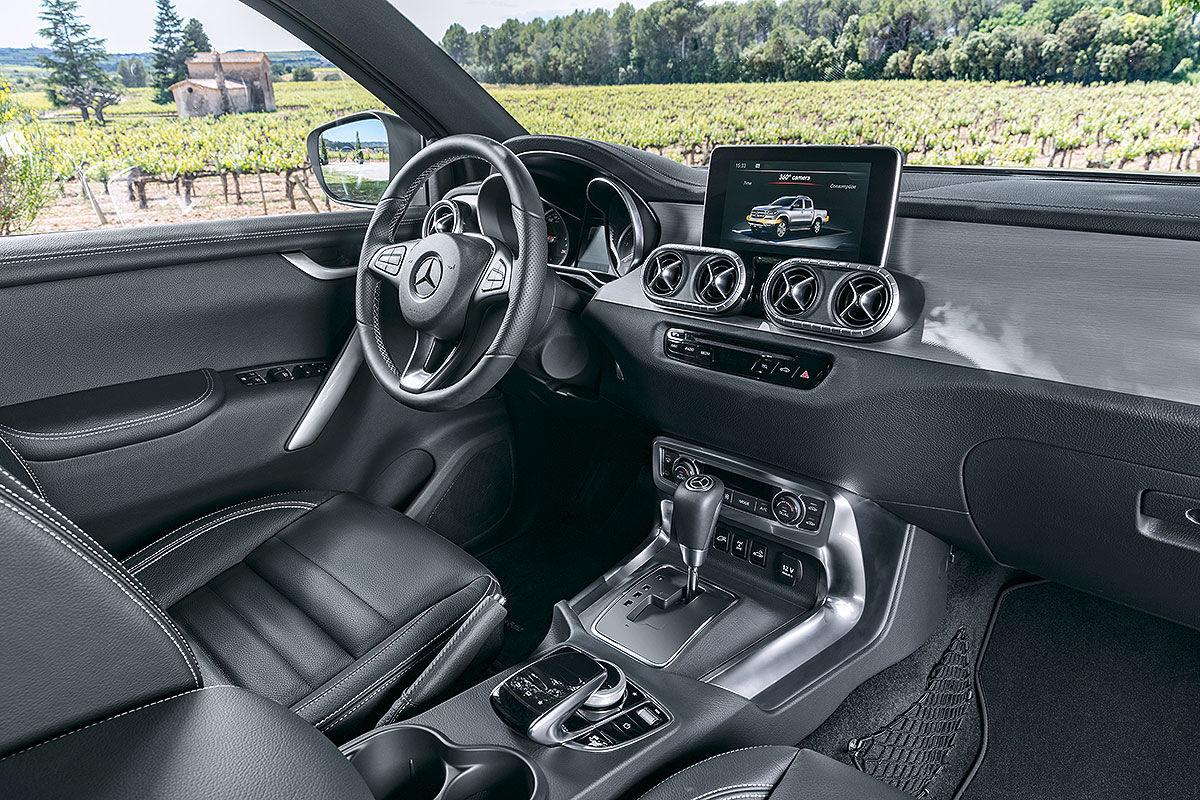 «Новое направление»: обзор пикапа Mercedes-Benz X-class 4