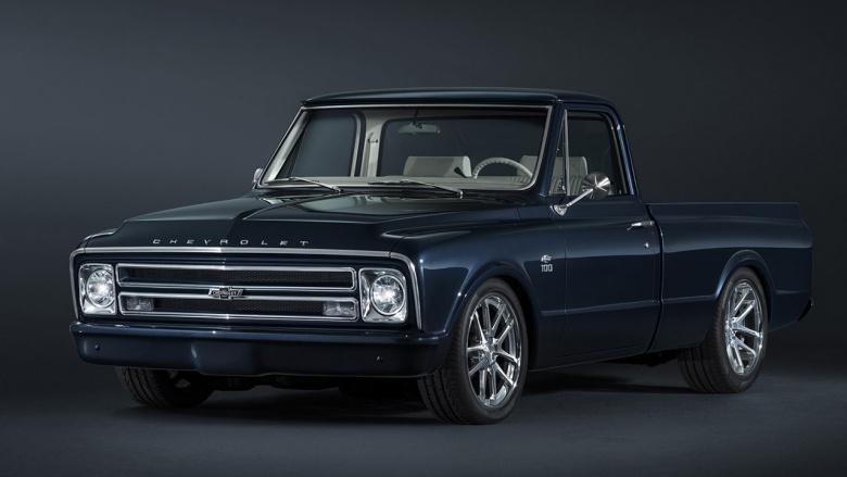 Компания Chevrolet презентовала очень «старомодный» автомобиль 1