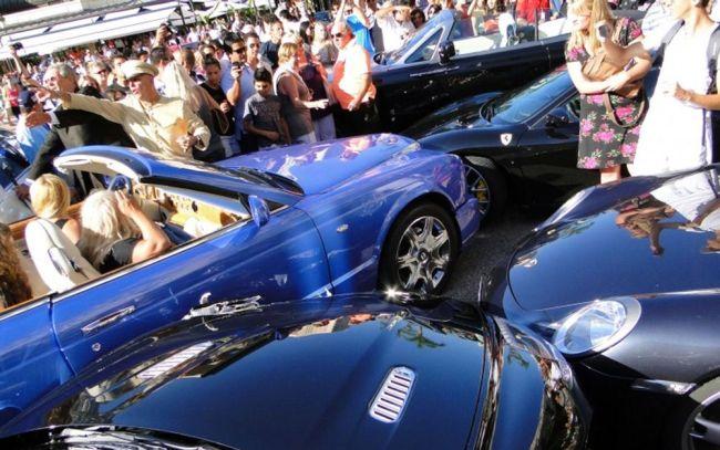 Аварии с редкими и дорогими автомобилями 1