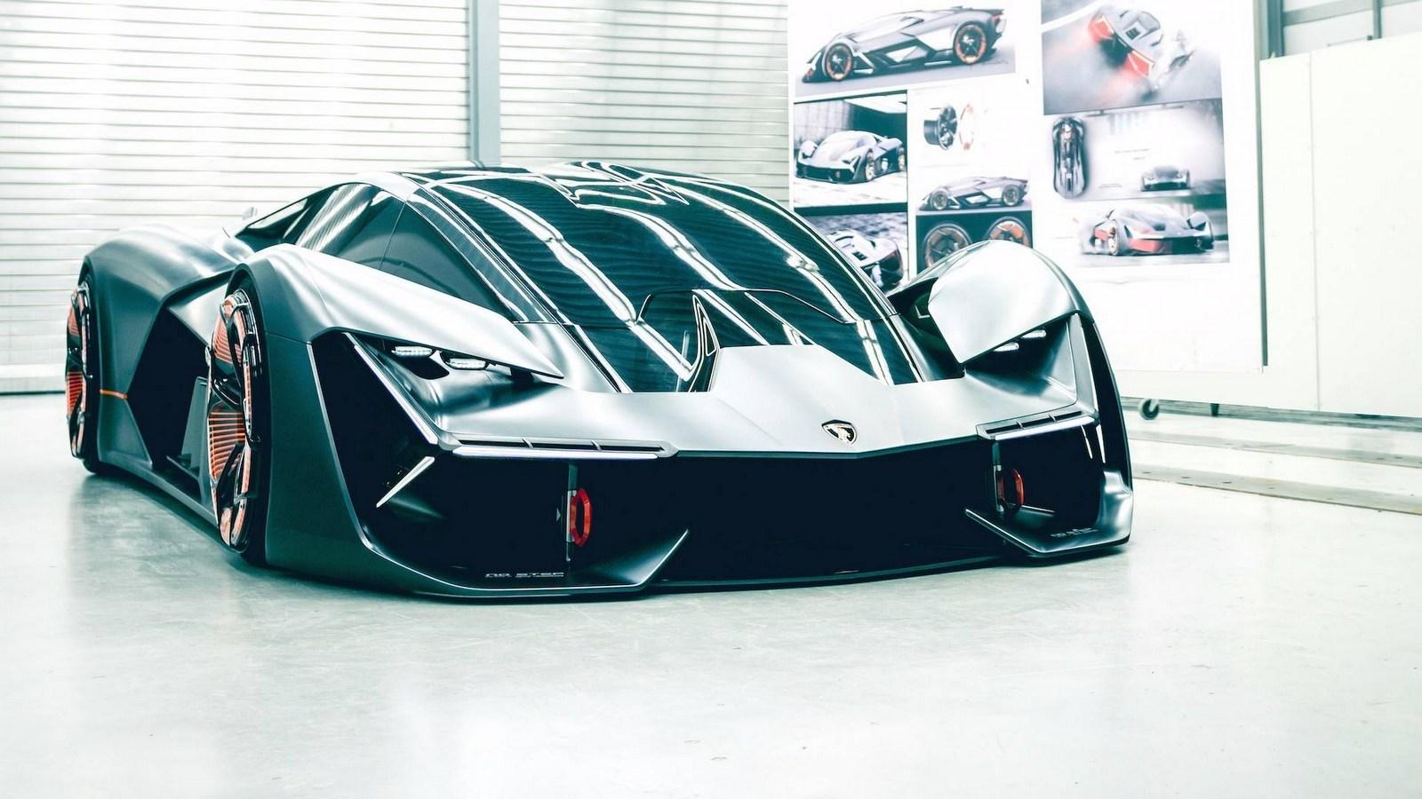 Lamborghini рассекретил суперкар «третьего тысячелетия» 1