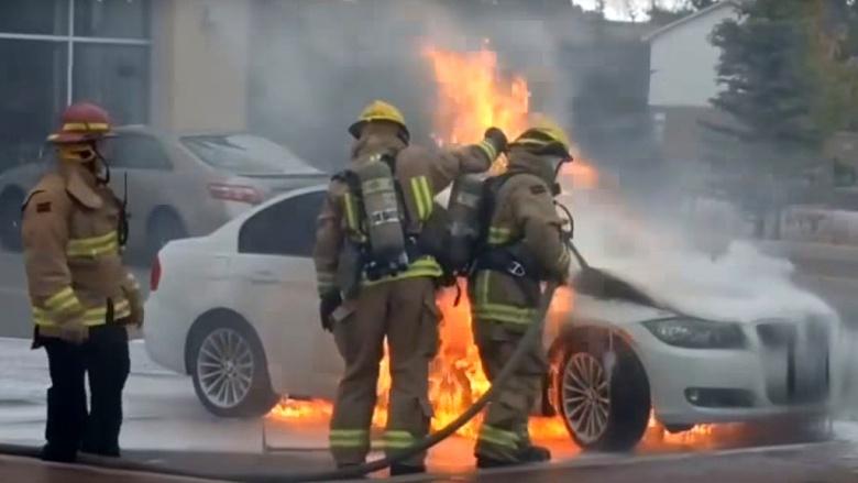 Автомобили BMW могут самовоспламеняться 1