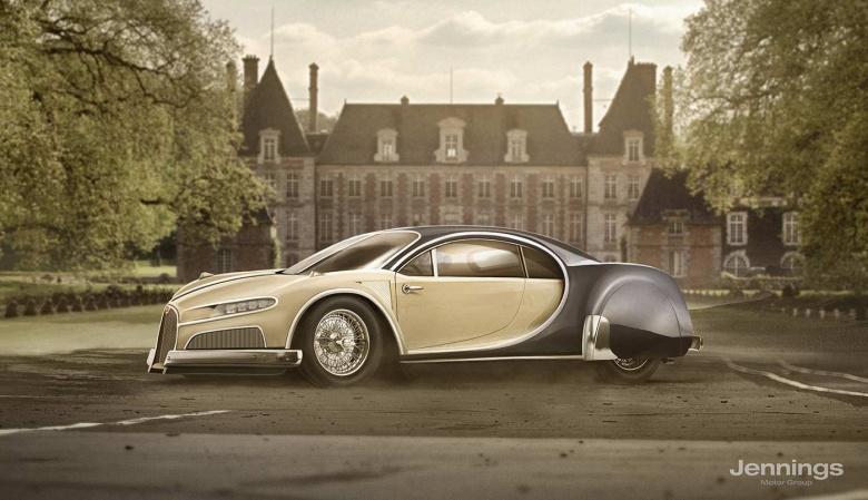Что получится, если «скрестить» современные автомобили с их «прародителями» 1