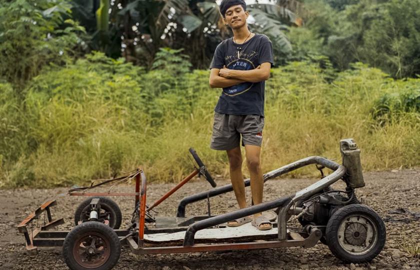 Индонезийские мопеды и мотоциклы поражают своим «безумством» 3