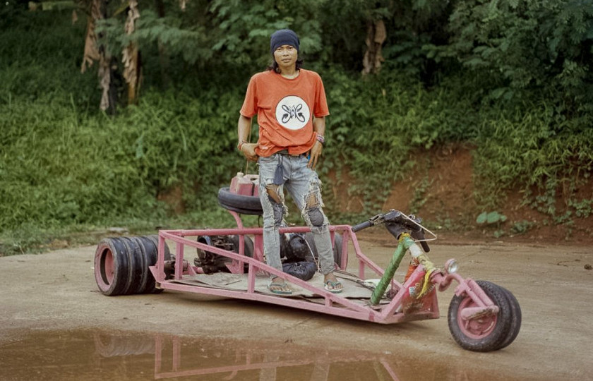 Индонезийские мопеды и мотоциклы поражают своим «безумством» 2