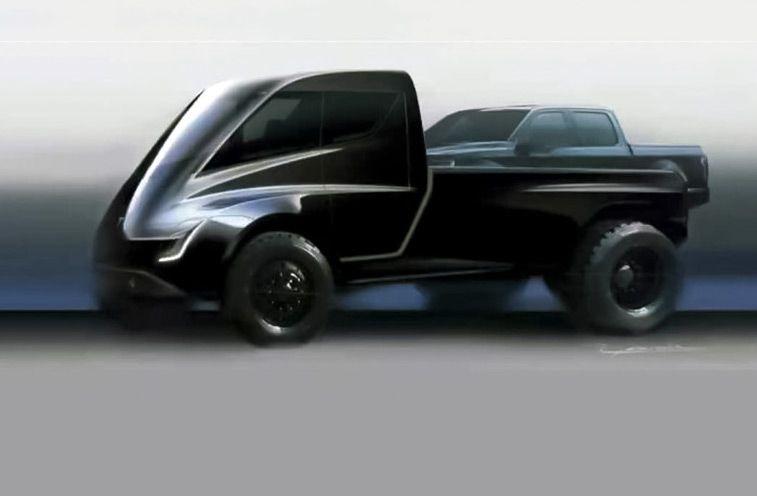 Tesla представила гигантский пикап 1