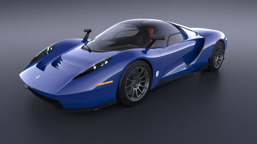 В США построили трехместный суперкар 1