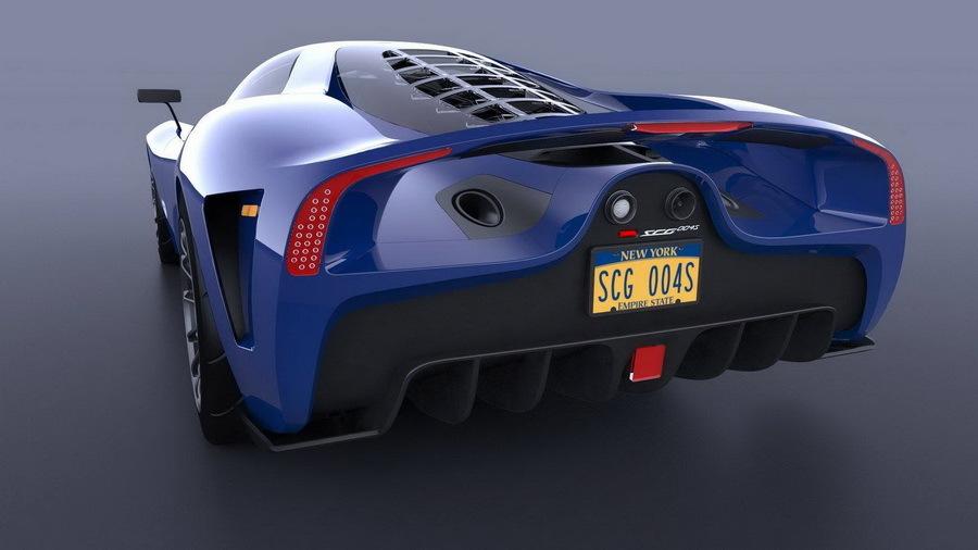 В США построили трехместный суперкар 2