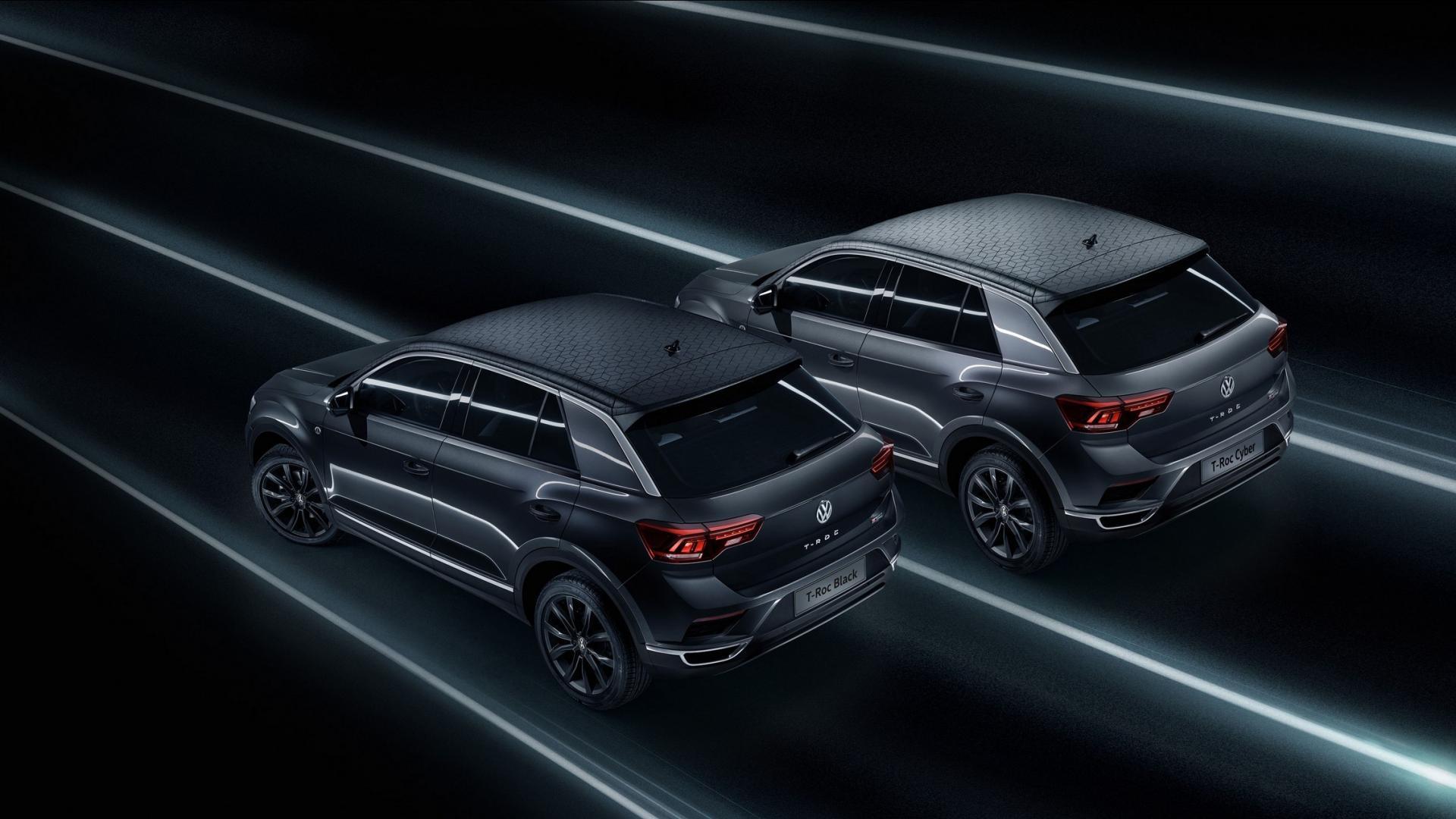 Новые версию Volkswagen T-Roc посвятили «черной пятнице» и «киберпонедельнику» 1