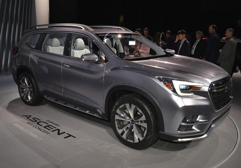 Компания Subaru показала новый кроссовер Ascent 2