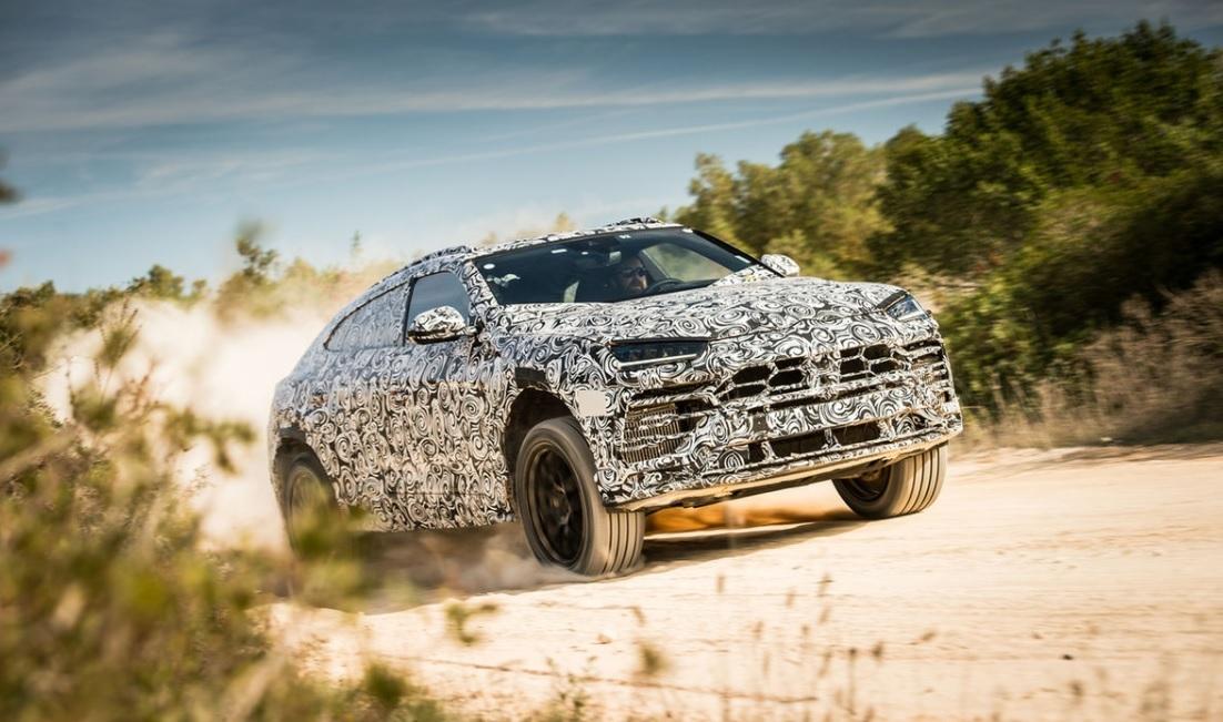 Кроссовер Lamborghini Urus оснастят самыми большими тормозами в мире 1