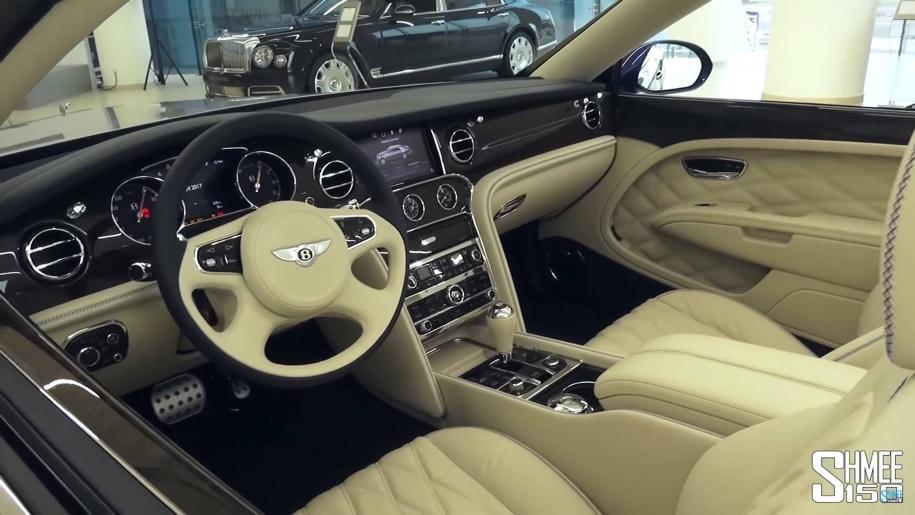 Найден единственный в мире кабриолет Bentley Mulsanne 2