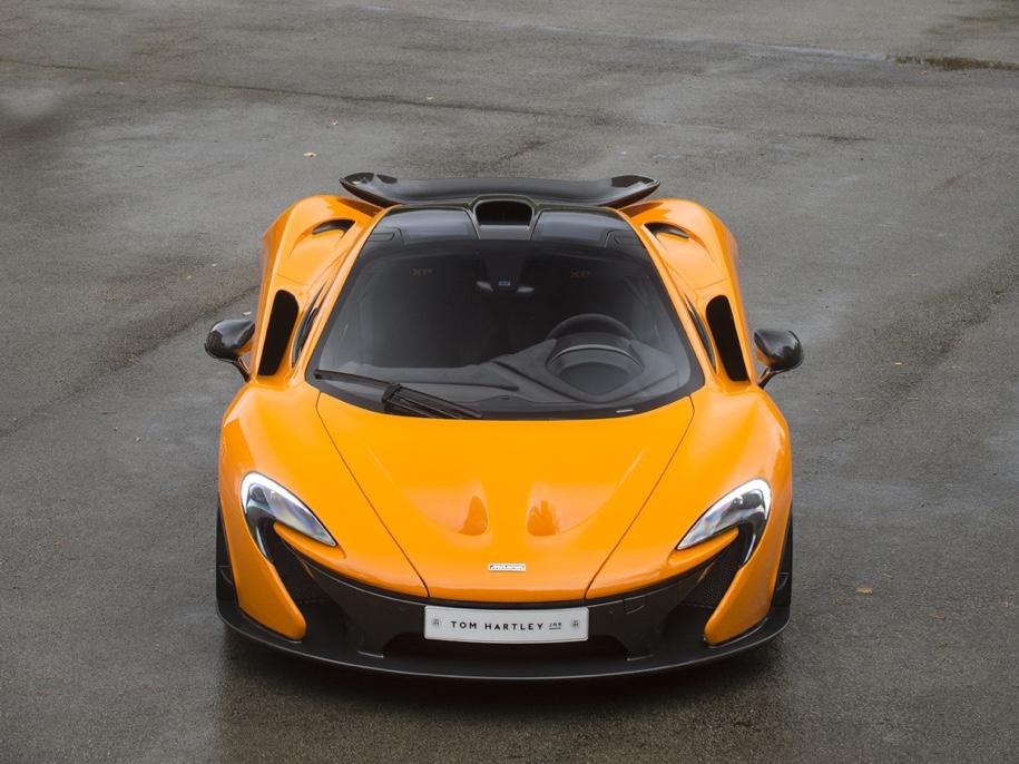 Один из пяти прототипов супергибрида McLaren P1 выставили на торги 2