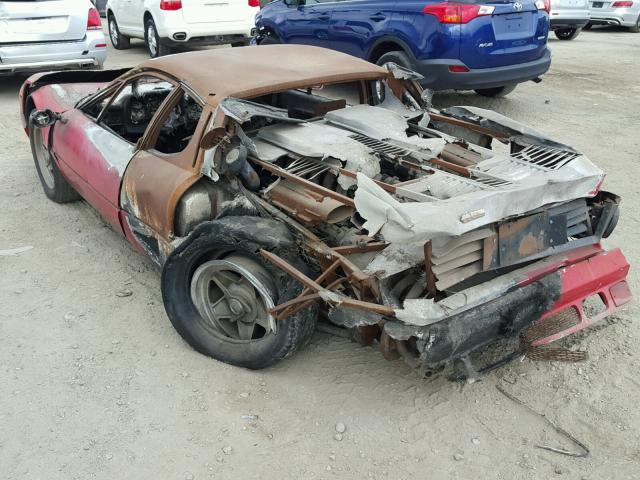 «Останки» сгоревшего Ferrari продают за 40 тысяч долларов 1