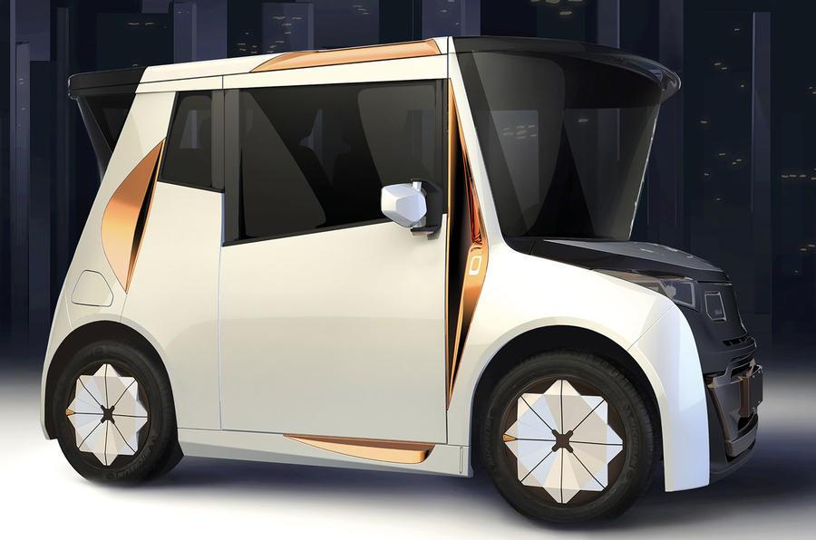 В Лос-Анджелесе могут представить ситикар от дизайнера BMW 1