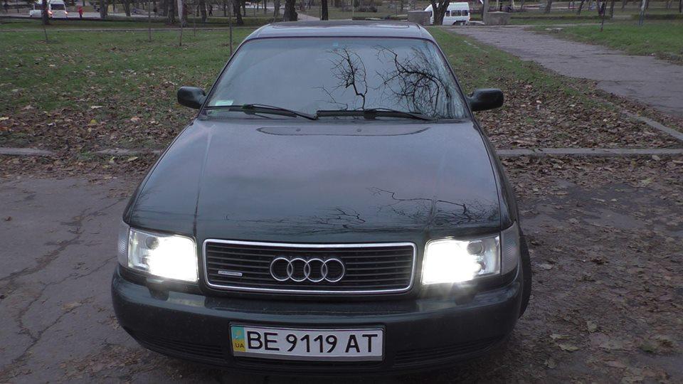 Автомобиль за 3000 долларов: тест-драйв Audi 100 1