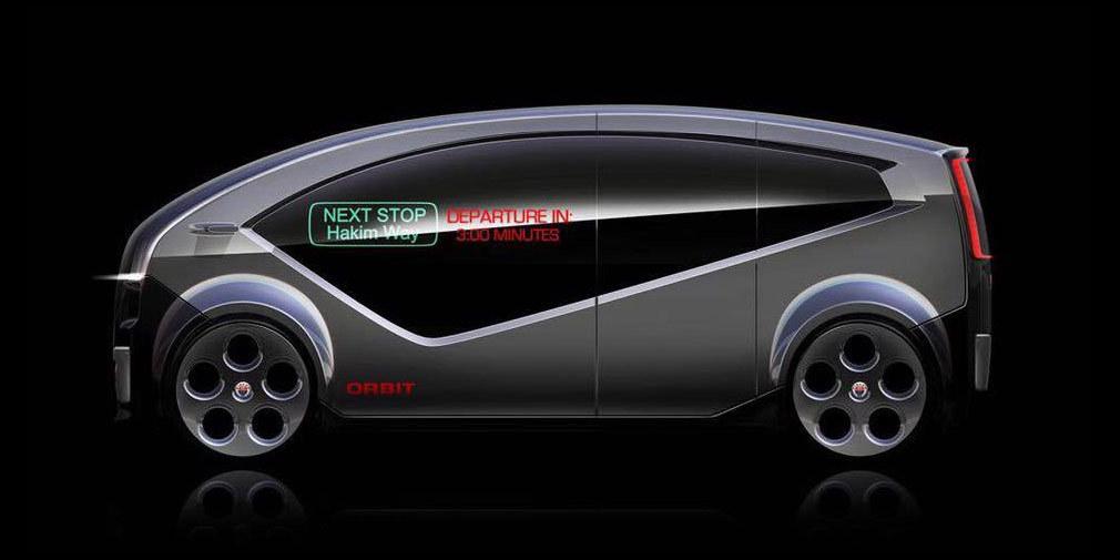 Fisker Orbit – новый минивэн «будущего» 1