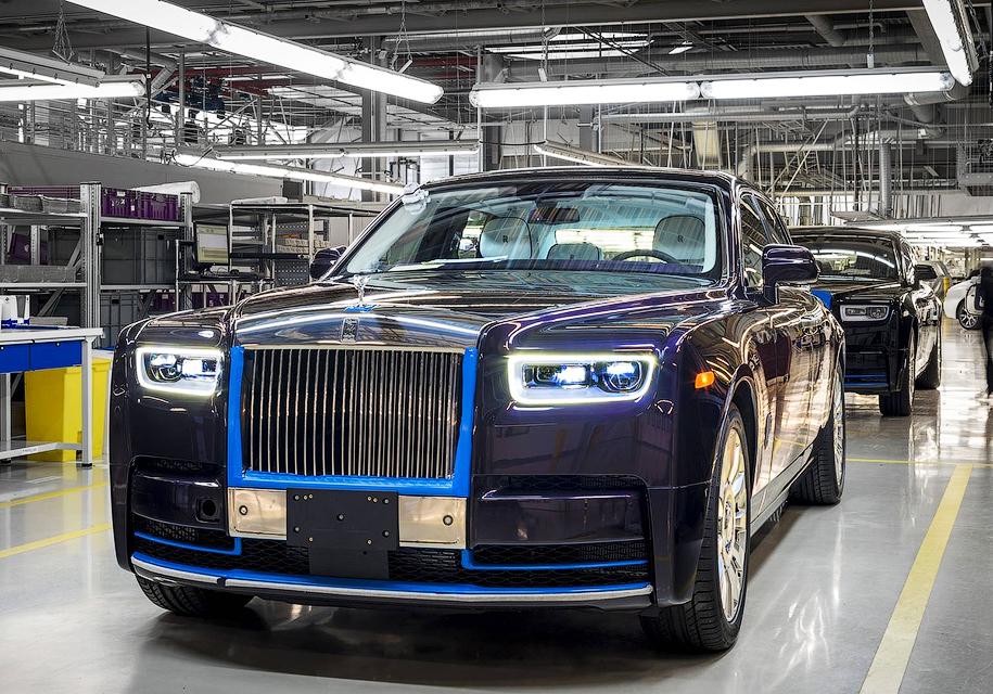Первый Rolls-Royce Phantom продадут на Фестивале вина 1
