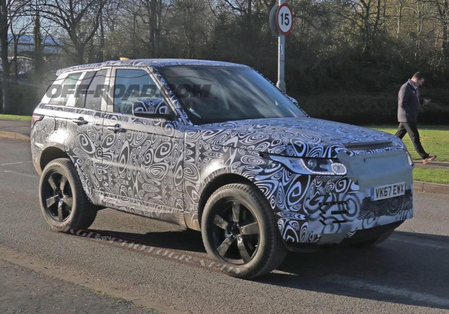 Новый Defenfder «спрятался» в кузове Range Rover 1