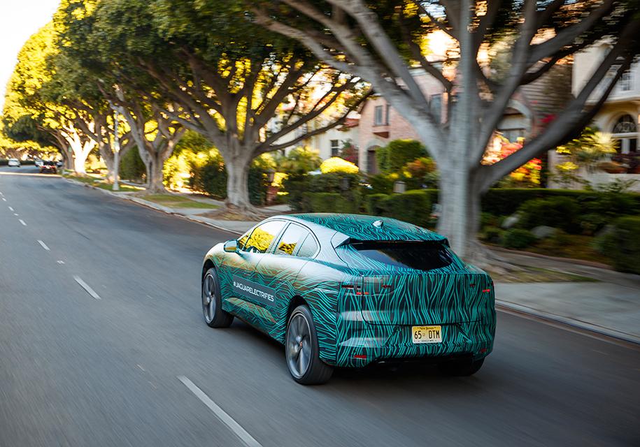 Стал известен реальный запас хода Jaguar I-Pace 2