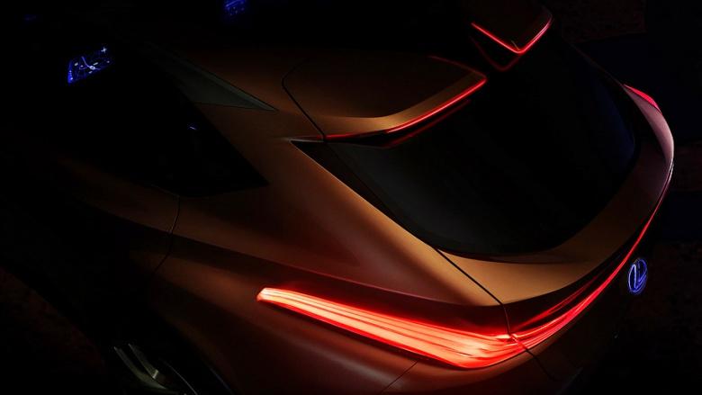Lexus представил роскошный концепт 1