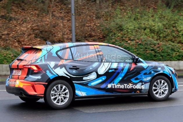 Фотошпионы «поймали» новый Ford Focus со странными фарами 2