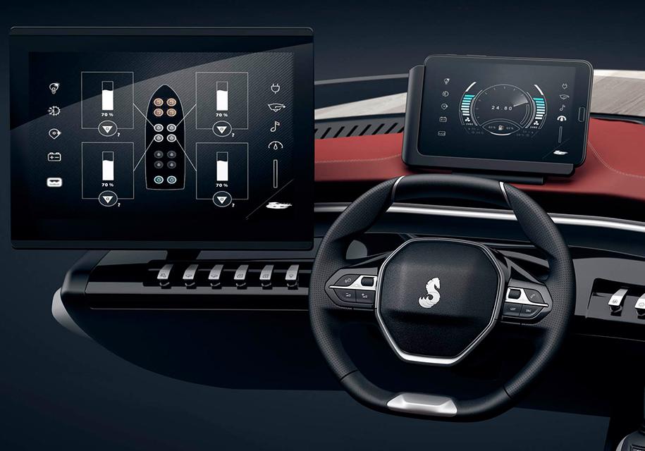 Peugeot применит интерьер своих автомобилей для лодок 3