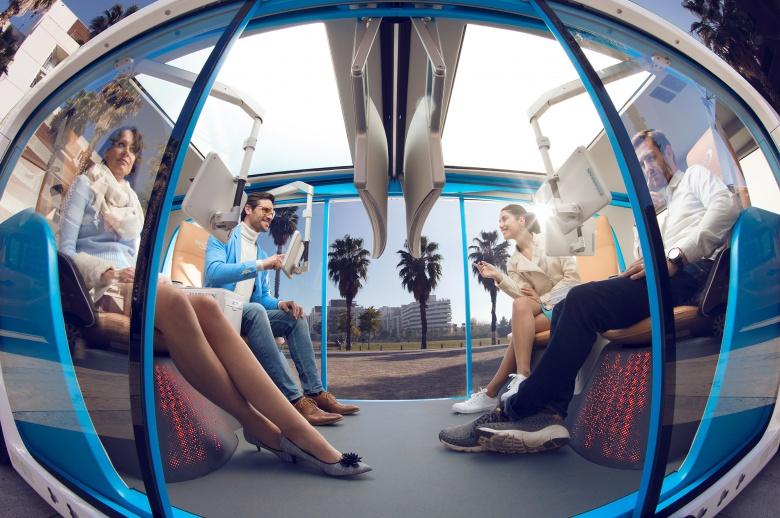 «Маршрутка без водителя»: компания Rinspeed представила беспилотную «капсулу» 2