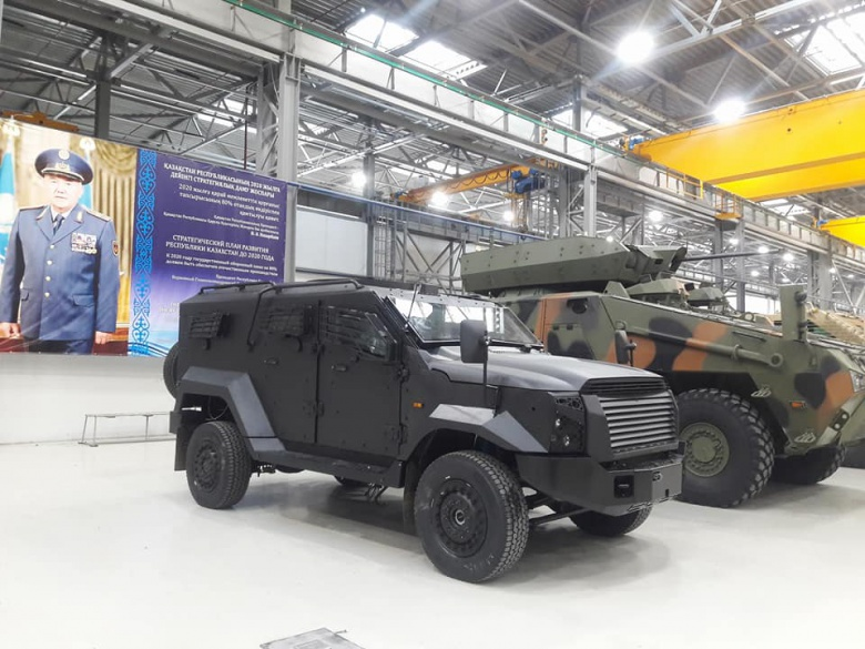 Казахский военный автомобиль назвали «сексуальным» 2