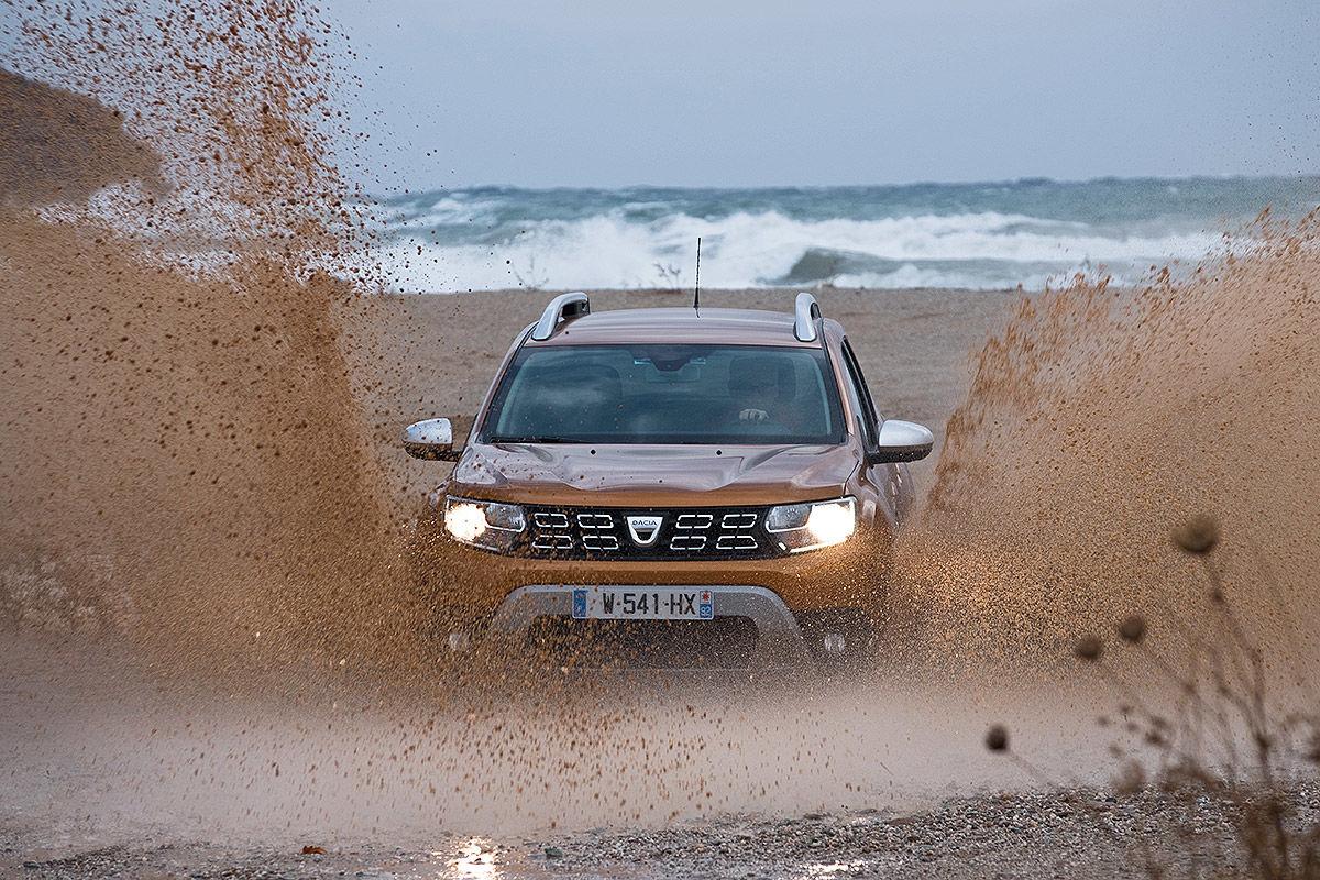 Второе поколение доступного внедорожника: тест-драйв Dacia Duster 7
