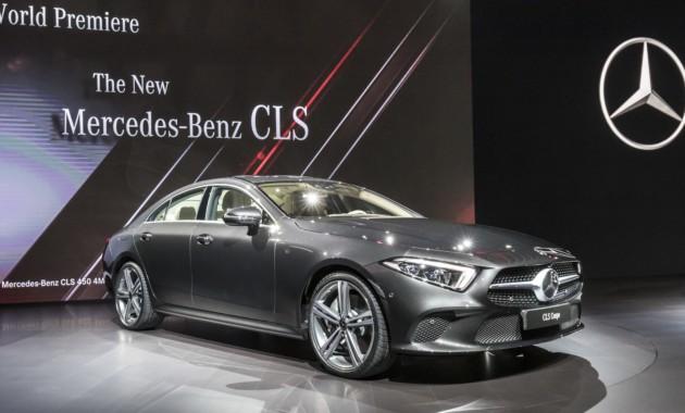 Новый Mercedes-Benz CLS получил ценник 2