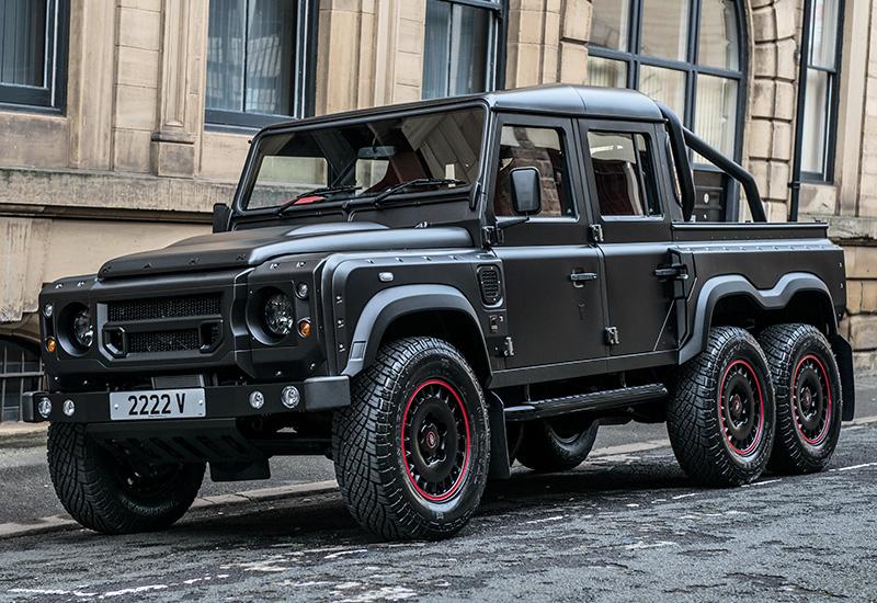 Тюнеры показали поразительный шестиколесный Land Rover 1