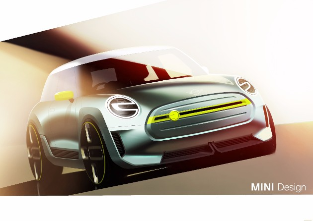 Mini удивит мир электрическим микро-кроссовером 1