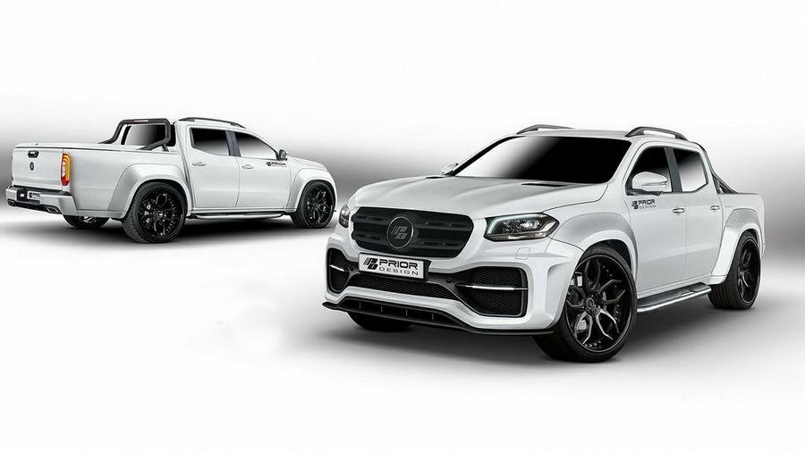 Пикап Mercedes-Benz впервые получил «прокачку» от тюнеров 1