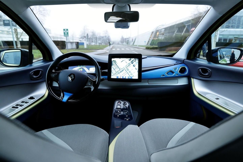 Беспилотные Renault будут «заниматься» образованием пассажиров 1