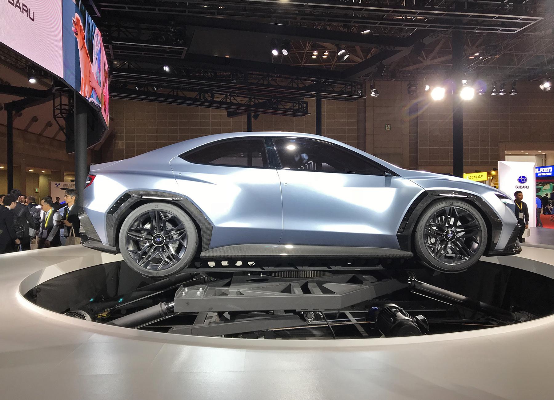 Subaru раскрыла сведения о новом WRX 1