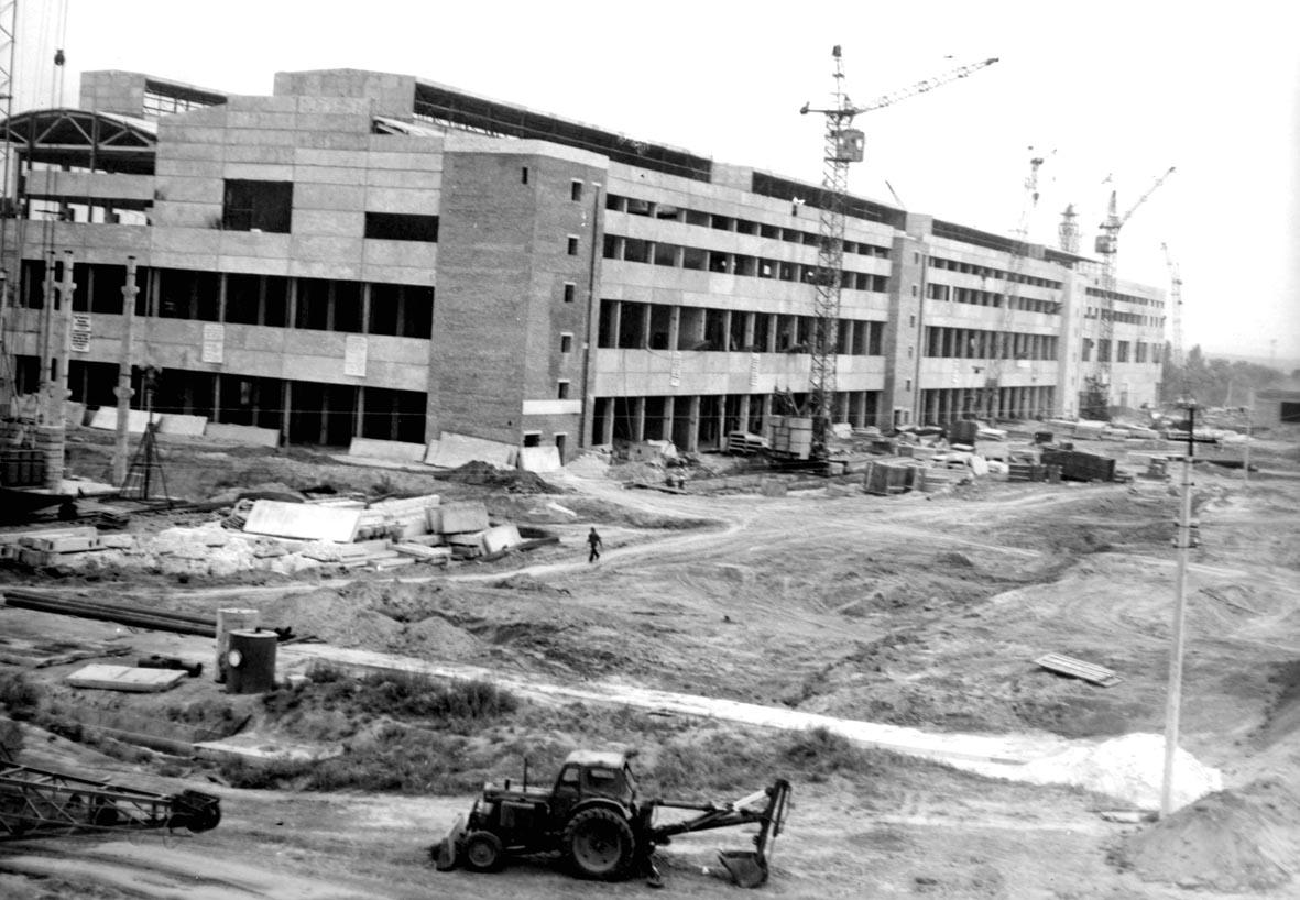 Строительство главного производственного корпуса