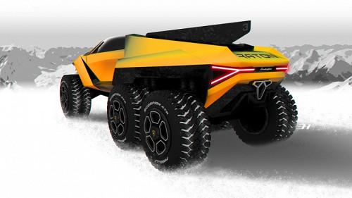 Lamborghini Raton – новый брутальный внедорожник независимого дизайнера 1