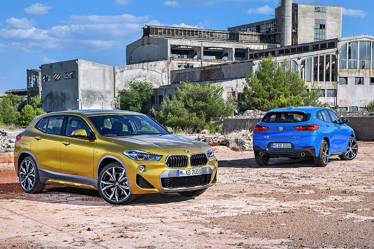 «Малый, да удалый»: тест-драйв кросс-купе BMW X2 2