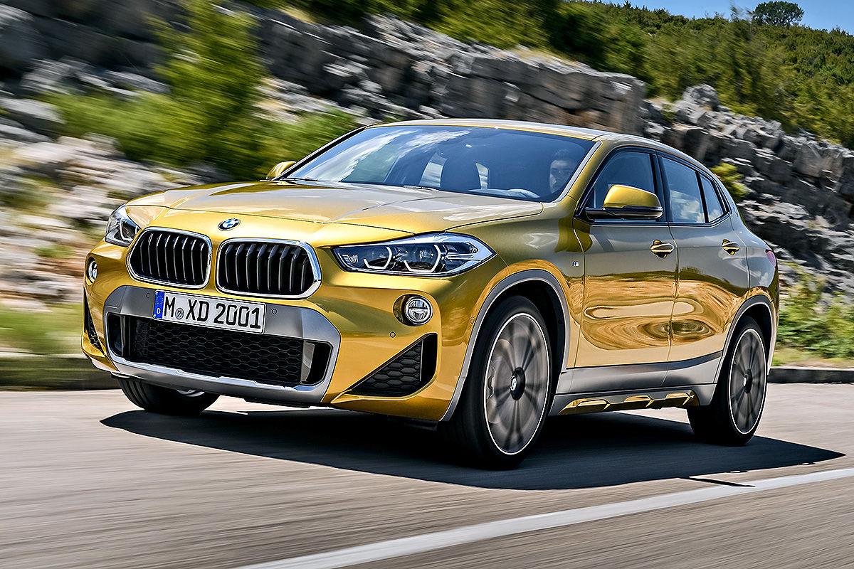 «Малый, да удалый»: тест-драйв кросс-купе BMW X2 4