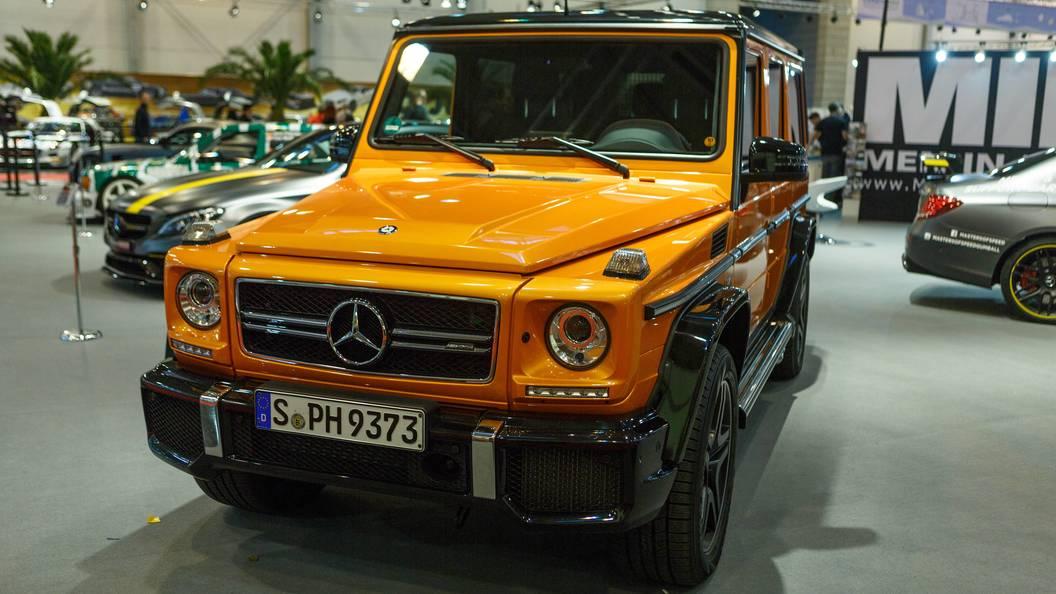 Mercedes-Benz выпустил промо-ролик, посвященный новому «Гелику» 1