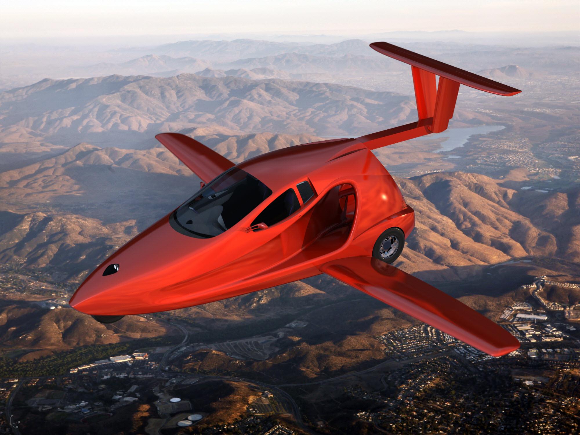 Американский летающий автомобиль уже скоро поднимется в небо 2