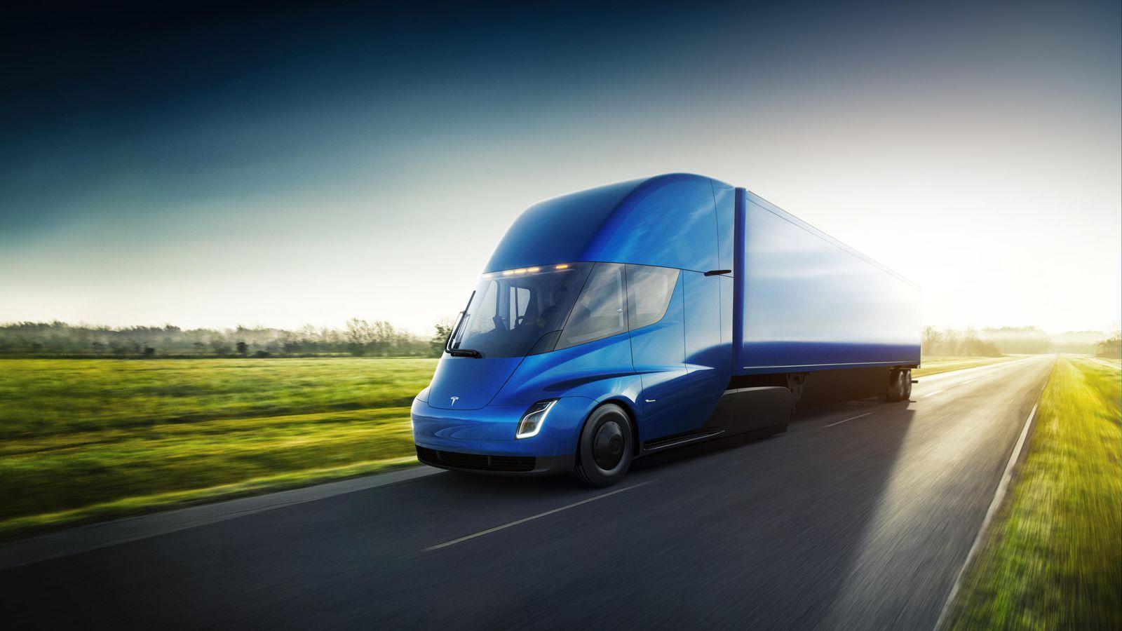 Грузовики Tesla Semi приспособят для перевозки пива 2