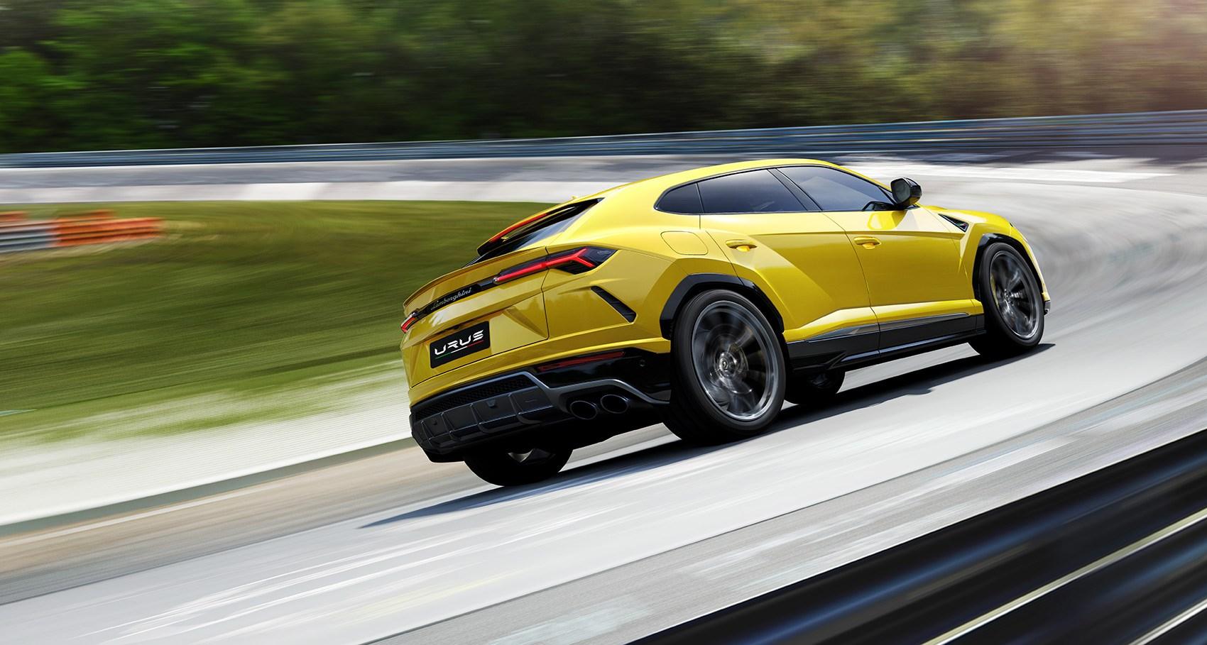 Сможет ли кроссовер Lamborghini Urus покорить Нюрбургринг 1