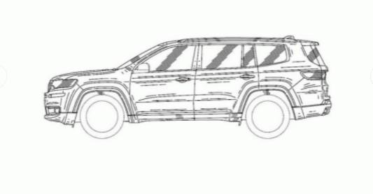 Jeep показал дизайн нового внедорожника 2