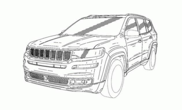 Jeep показал дизайн нового внедорожника 1